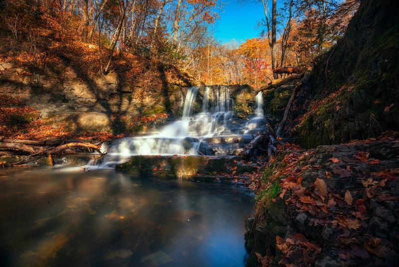 водопад приморье